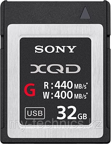 Карта памяти XQD Sony 32GB (QD-G32E) G Series Memory Card (R440/W400)