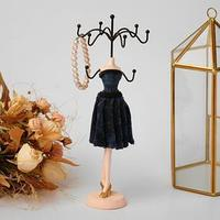 Подставка для украшений 'Силуэт девушки в платье', h26 см, цвет МИКС