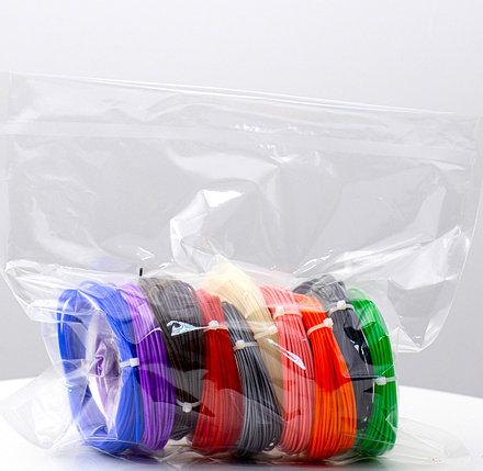 """Набор пластика для 3D ручки """"НИТ"""", PLA - 10 цветов (100 метров), фото 2"""