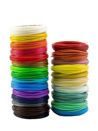 """Набор пластика для 3D ручки """"НИТ"""", PLA - 15 + 10 цветов (250 метров), фото 2"""