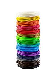 "Набор пластика для 3D ручки ""НИТ"", PLA - 15 цветов (150 метров)"