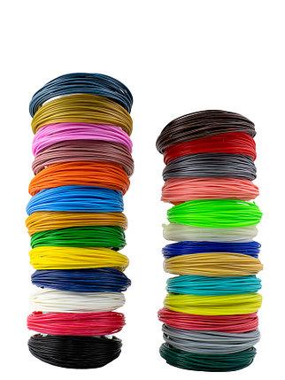 """Набор пластика для 3D ручки """"НИТ"""", PLA - 27 цветов (270 метров), фото 2"""