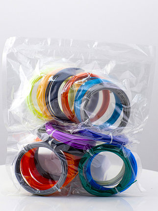 """Набор пластика для 3D ручки """"НИТ"""", ABS - 10 + 6 цветов (160 метров), фото 2"""