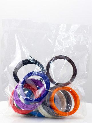 """Набор пластика для 3D ручки """"НИТ"""", ABS - 10 цветов (100 метров), фото 2"""