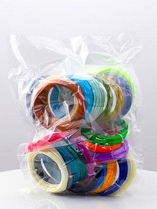 """Набор пластика для 3D ручки """"НИТ"""", ABS 15 + 10 цветов (250 метров), фото 2"""