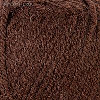"""Пряжа """"Alpaca royal"""" 30% альпака, 15% шерсть, 55% акрил 250м/100гр (201 коричневый)"""