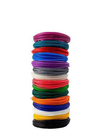 """Набор пластика для 3D ручки """"НИТ"""", ABS  - 15 цветов (150 метров), фото 2"""
