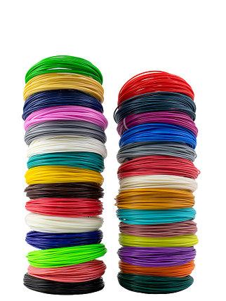 """Набор пластика для 3D ручки """"НИТ"""", ABS - 29 цветов (290 метров), фото 2"""