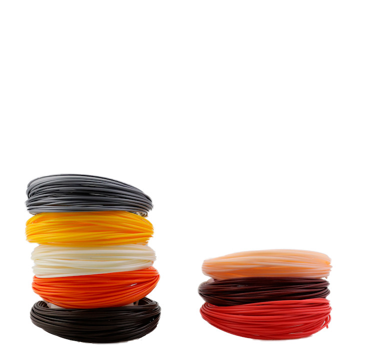 "Набор пластика для 3D ручки ""НИТ"", ABS - 5 + 3 цветов (80 метров)"