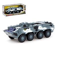 Машина инерционная «Военная», масштаб 1:35, свет и звук