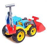 Трактор «Технок», с 2 ковшами, фото 3