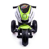 Электромобиль «Супербайк», цвет салатовый, фото 4