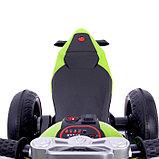 Электромобиль «Супербайк», цвет салатовый, фото 7