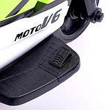 Электромобиль «Супербайк», цвет салатовый, фото 8