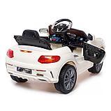 Электромобиль «Купе», с радиоуправлением, свет и звук, цвет белый, фото 3