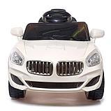 Электромобиль «Купе», с радиоуправлением, свет и звук, цвет белый, фото 4