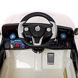 Электромобиль «Купе», с радиоуправлением, свет и звук, цвет белый, фото 6