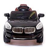 Электромобиль «Купе», с радиоуправлением, свет и звук, цвет чёрный, фото 4