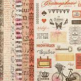 """Набор бумаги """"Королевские розы"""" 30.5смх30.5см, 24 листа+3 листа вырубки, фото 8"""