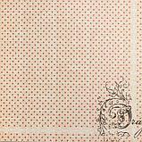"""Набор бумаги """"Королевские розы"""" 30.5смх30.5см, 24 листа+3 листа вырубки, фото 10"""
