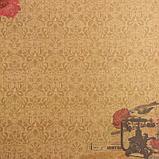 """Набор бумаги """"Танцующие маки"""" 30.5смх30.5см, 24 листа+1 лист вырубки, фото 10"""