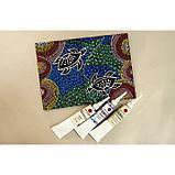 Контур по стеклу и керамике «ТАИР», 20 мл, тёмно-красный, фото 8