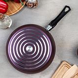 Сковорода Violet, d=22 см, антипригарное покрытие, фото 4