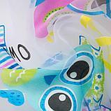 """Тюль """"Этель"""" в детскую Совята без утяжелителя, ширина 250 см, высота 270 см, фото 3"""