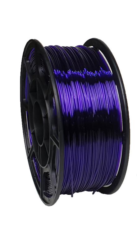 """Пластик для 3D печати """"НИТ"""", Petg прозрачно-синий 1 кг."""