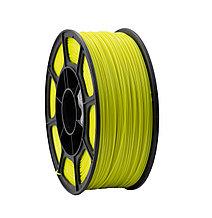 """Пластик для 3D печати """"НИТ"""", PLA флуоресцентный желтый 1 кг."""