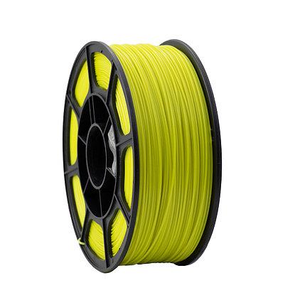 """Пластик для 3D печати """"НИТ"""", PLA флуоресцентный желтый 1 кг., фото 2"""