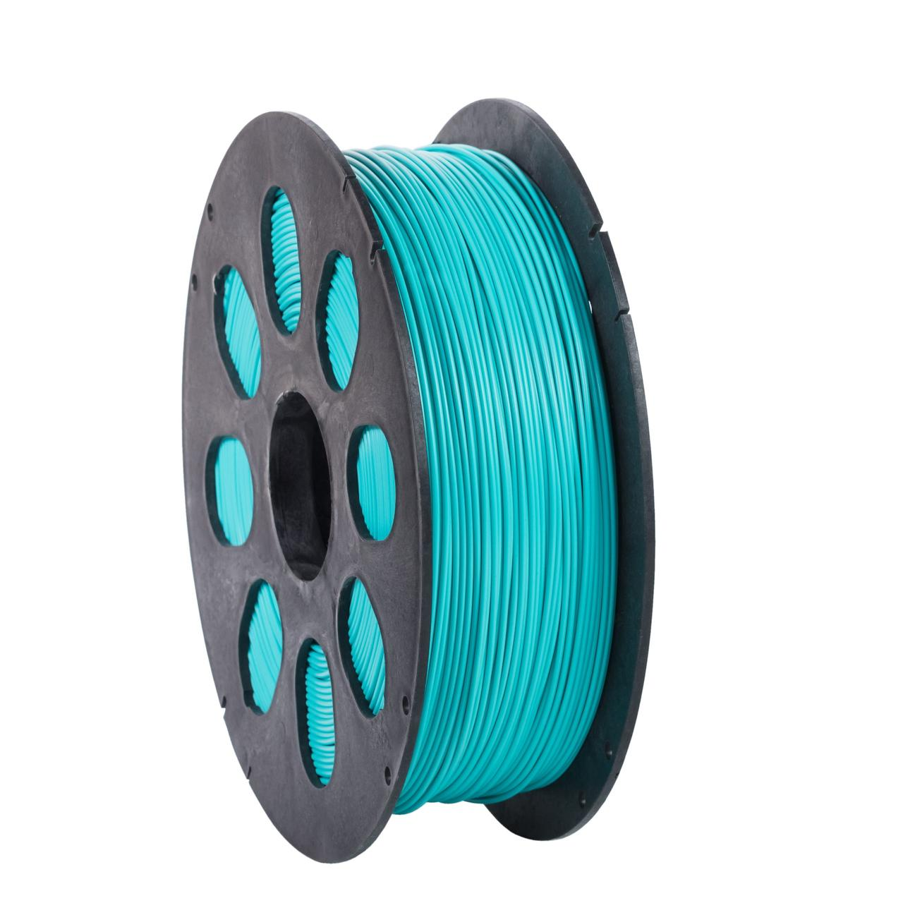 """Пластик для 3D печати """"НИТ"""", PLA бирюзовый 1 кг."""