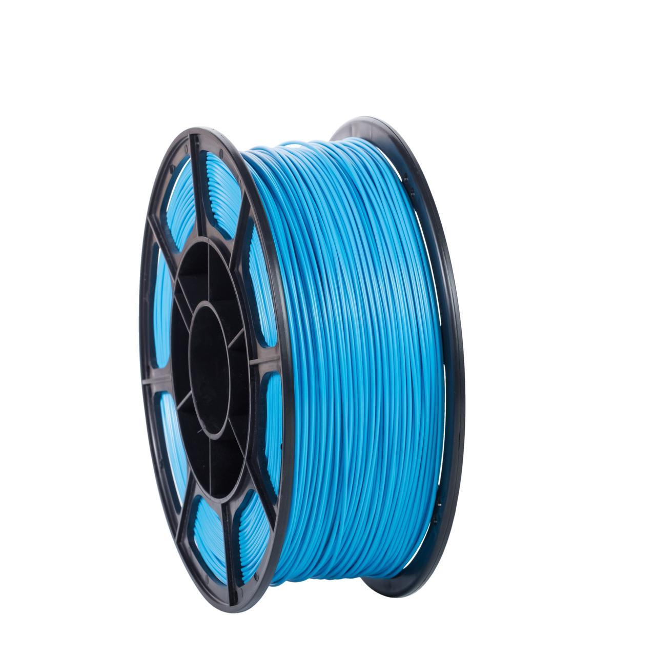 """Пластик для 3D печати """"НИТ"""", PLA голубой 1 кг."""