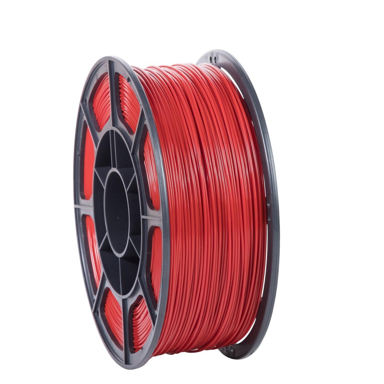 """Пластик для 3D печати """"НИТ"""", PLA красный 1 кг."""