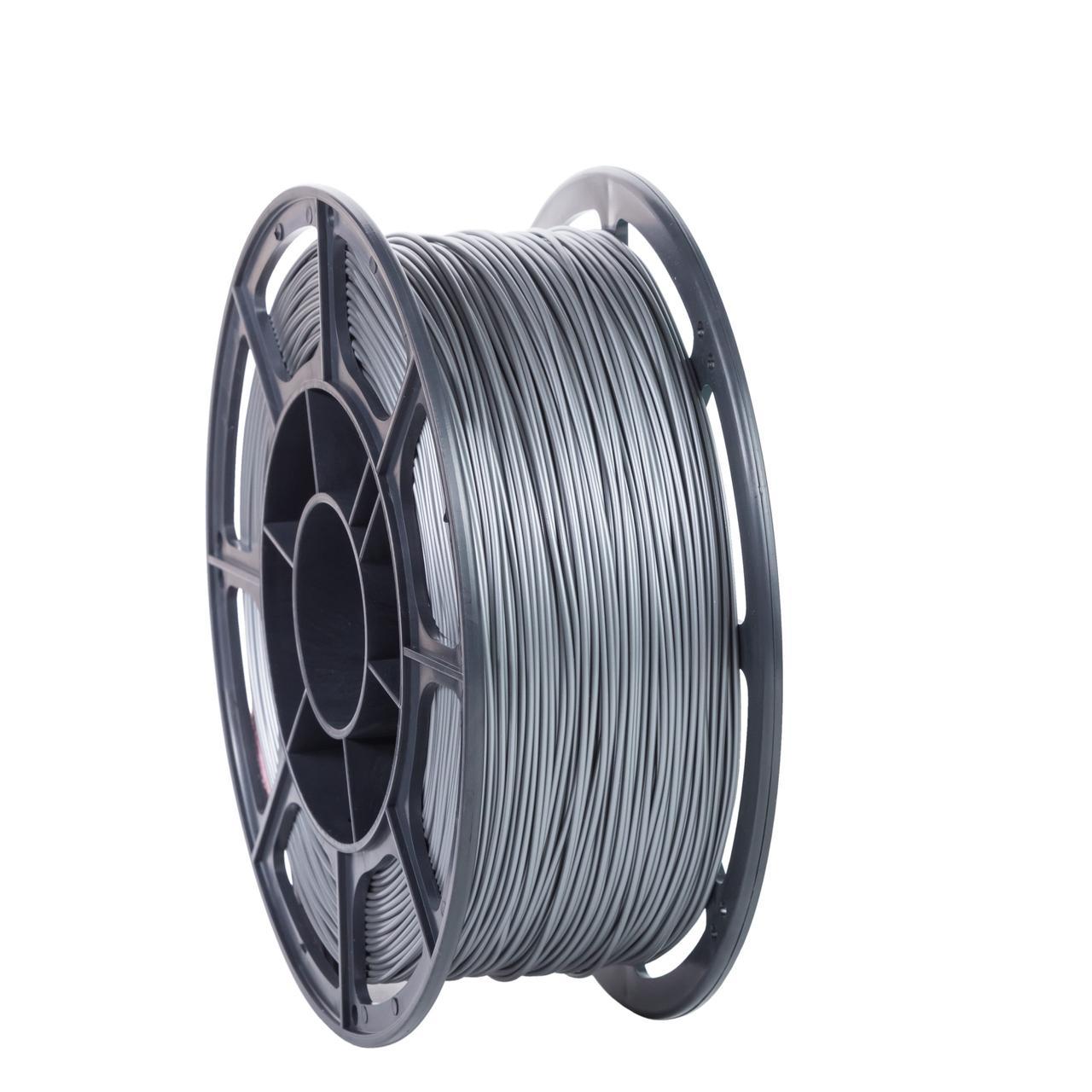 """Пластик для 3D печати """"НИТ"""", PLA серебро 1 кг."""