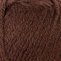 Пряжа 'Alpaca royal' 30 альпака, 15 шерсть, 55 акрил 250м/100гр (201 коричневый)