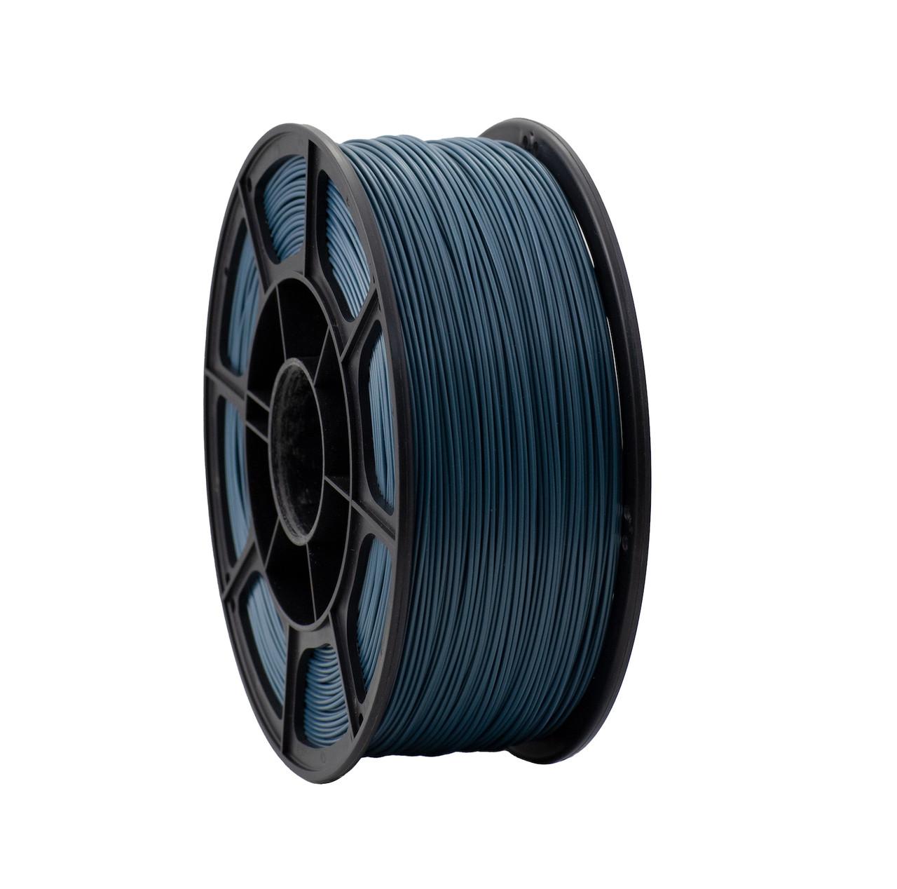 """Пластик для 3D печати """"НИТ"""", PLA металлик синий 1 кг."""
