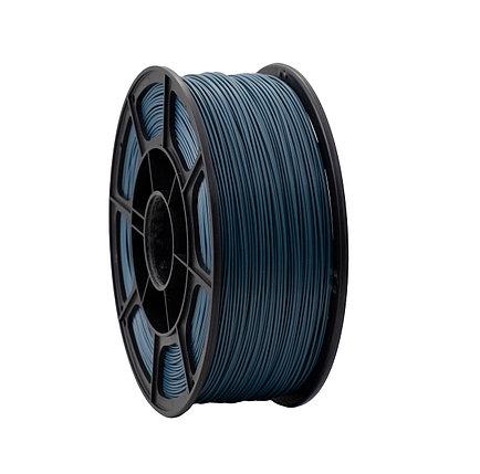 """Пластик для 3D печати """"НИТ"""", PLA металлик синий 1 кг., фото 2"""