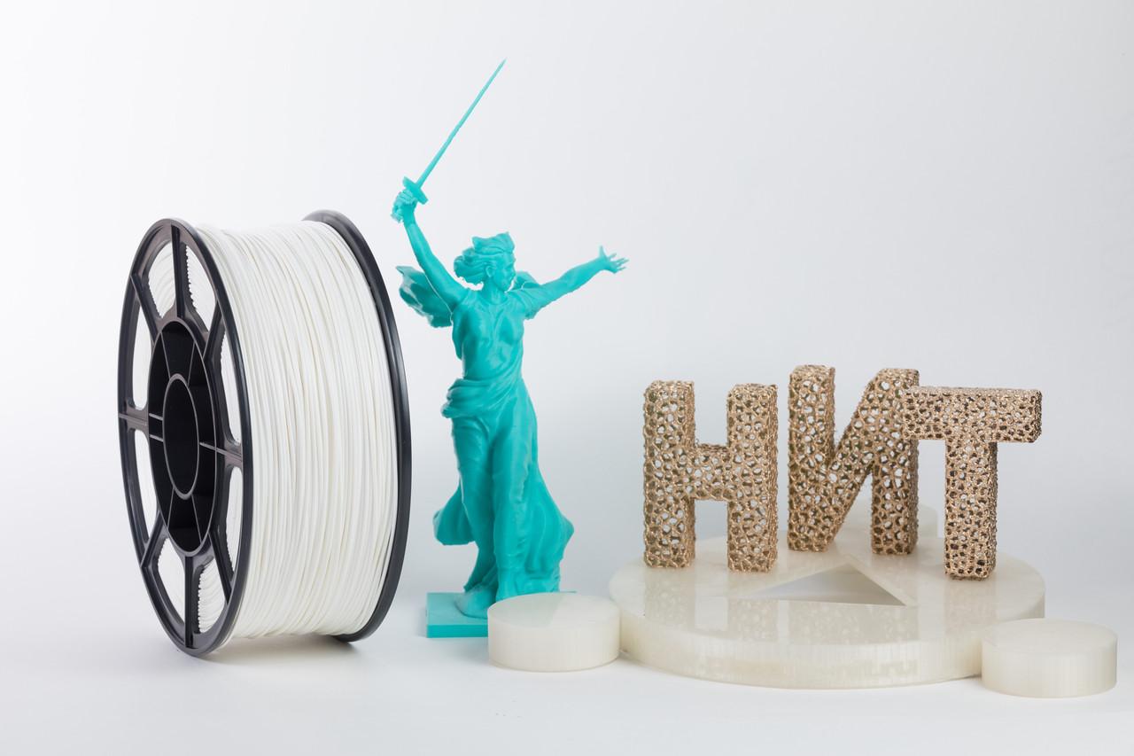 "Пластик для 3D печати ""НИТ"", ABS Белый 1 кг."