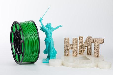 """Пластик для 3D печати """"НИТ"""", ABS Зелёный 1 кг., фото 2"""