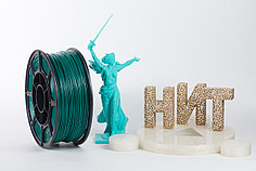 "Пластик для 3D печати ""НИТ"", ABS Изумруд 1 кг."