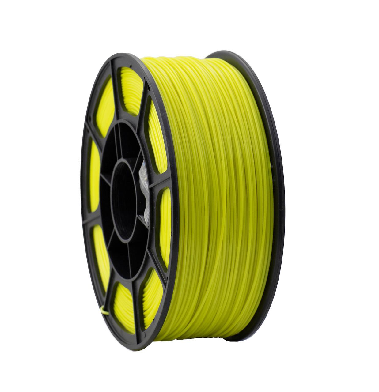 "Пластик для 3D печати ""НИТ"", ABS флуоросцентный желтый  1 кг."