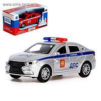 Машина металлическая «Спецслужбы», открываются двери, инерция, световые и звуковые эффекты, МИКС