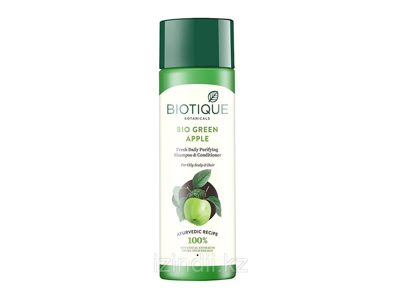Шампунь & кондиционер для жирных волос БИО ЗЕЛЕНОЕ ЯБЛОКО (BIO GREEN APPLE ),190 мл, Biotique