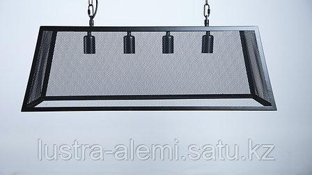 Люстра Лофт H 05/4 BK E27*4, фото 2