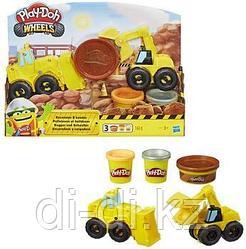Набор массы для лепки Play-Doh Wheels Экскаватор