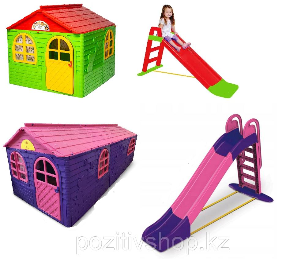 Детские домики и горки Doloni.