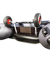 Колеса транспортировочные быстросъёмные оцинкованные, для лодок НДНД, фото 2