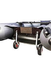 Колеса транспортировочные быстросъёмные оцинкованные, для лодок НДНД, фото 3
