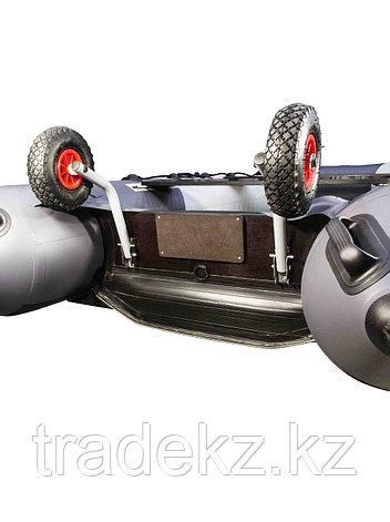 Колеса транспортировочные транцевые нержавейка НДНД, фото 2